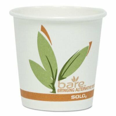 Solo Cup Eco-Forward Recycled Content PCF 4-oz Hot Cups, 1,000 Cups (SCC374RC)