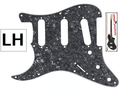 NEW PICKGUARD LH STRATOCASTER SSS pearl grey - gaucher pour guitare strat