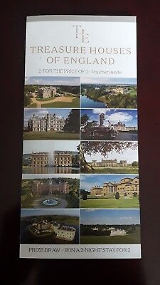Treasure Houses Of England 2 for 1 Voucher 2018