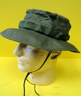 New boonie Vietnam war od green tropical combat hat cap size 7 1 4 1969  date.  18.99 Buy It Now 21d 3h. See Details. 1969 Us Army Vietnam Boonie Hat  ... 1ed1cb16310d