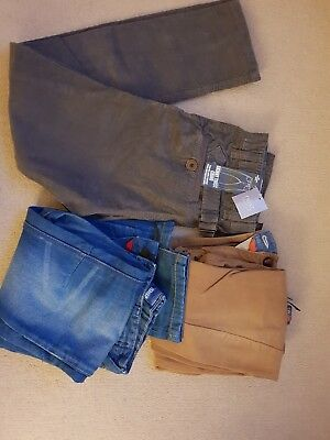 Next BNWT Boys Trousers bundle, twisted cord chinos, jeans, and chinos age 12