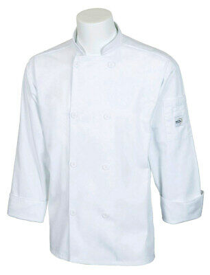 Mercer Millennia Cutlery Unisex White Chef Coat | Small