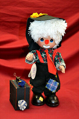 """Precious Moments """"I'D GO ANYWHERE WITH YOU"""" MOP TOP HOBO DOLL * 13"""" * NEW W/TAGS"""