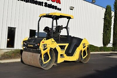 2015 Bomag BW141AD-5 Tandem Vibratory Compaction Roller 412 Hours
