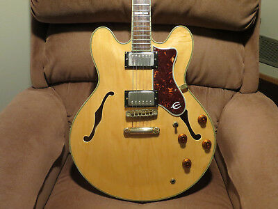 1988 EPIPHONE BY Gibson Sheraton II w original HSC and extras Excellent  !!