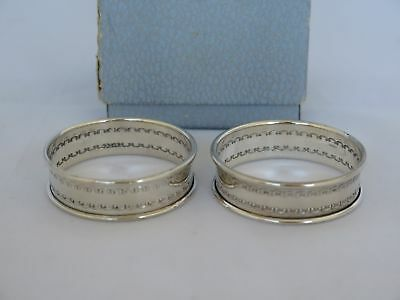 Pair of Vintage Reed & Barton Sterling Silver Small Napkin Rings