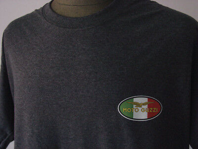 MOTO GUZZI ★ Heather T-Shirt * NEU * Motorrad * Italy * Softpatch * Motorcycle