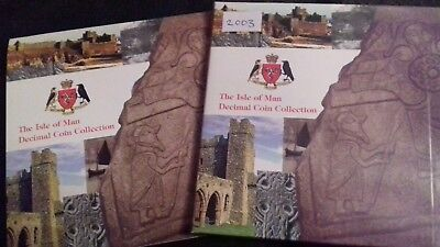 Very Rare 2003 Isle of Man Coin Set - Includes Very Rare christianity 50p Coin