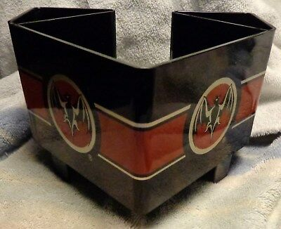 Bacardi Rum Bar Caddy - Napkin, Straw, Swizzel Holder....NEW...Style 2