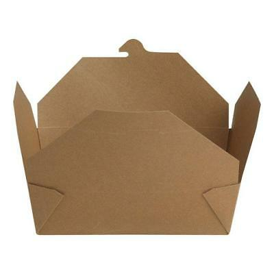 Dixie 3-Pound Take-Out To Go Box Container Leak Free Hot Or Cold Food, 80-Pack
