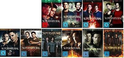 Supernatural Staffel 3-12 (3+4+5+6+7+8+9+10+11+12) DVD Set NEU OVP
