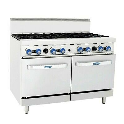 Cookrite 8 Burner With Oven Ato-8B-F Lpg