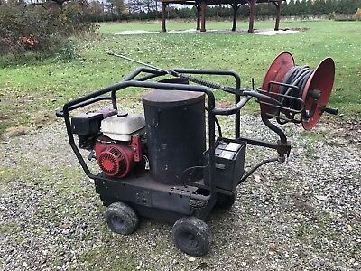 Landa Heated pressure washer 4000psi