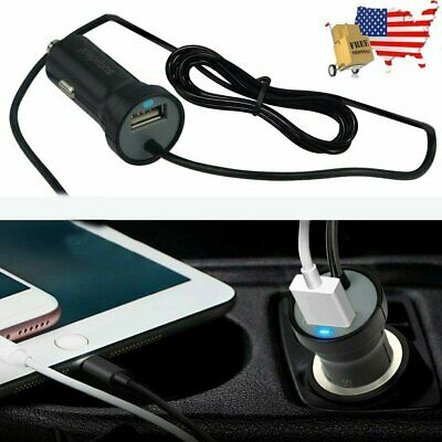 Fast Car Charger w/ USB Charging Cable For Apple iPhone X XS XR 8 7 6 6s Plus