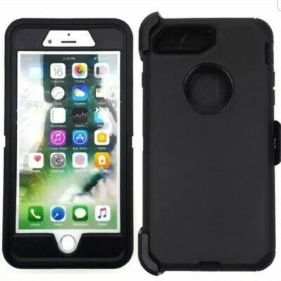 For iPhone 7 Plus 8 Plus 7 8 Heavy Duty Case (Clip Fits Otterbox Defender)