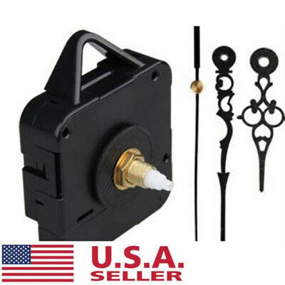 DIY Quartz Battery Wall Clock Movement Mechanism Repair Tool Replace Parts Sets