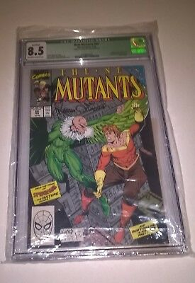 SIGNED!! New Mutants #86 CGC 8.5 1st App..Stryfe/CABLE McFarlane LTD 59 of 350