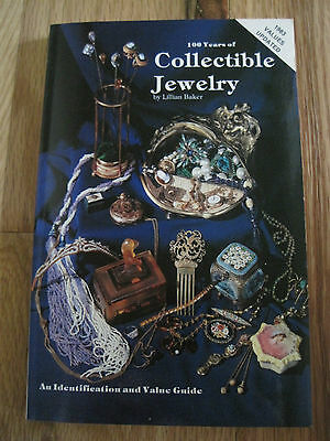 100 Years of Collectible Jewelry by Lillian Baker (1978, UK-Paperback,...