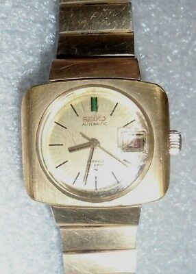 vintage women's Seiko Hi Beat automatic wristwatch