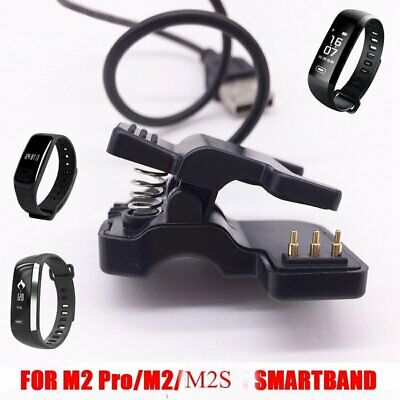 USB Charging Charger Cable Cord for Smart Heart Rate Watch Bracelet Wristband AU