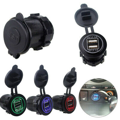 UNIVERSAL USB In Car Charger 12V-24V For High Speed Smart Phone & Tablet Gadgets
