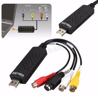 USB Video Tapes To DVD Converter Video Audio Capture Adapter Card For Win