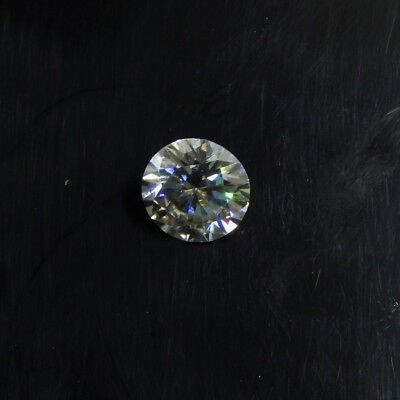 2.25 Cts 9x9x5 mm Round Faceted Brilliant Cut Loose Moissanite Gemstone ML#-1