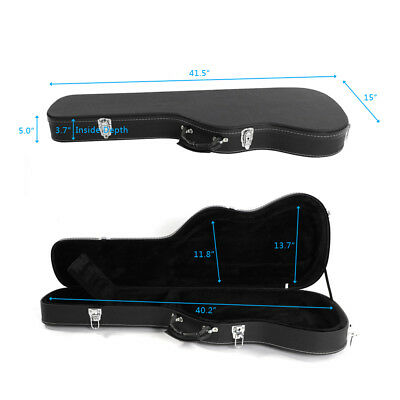Flat Surface Black St Electric Guitar Hard Sell Case Cover High Quality