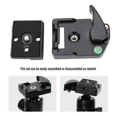 Tripod Quick Release Plate Clamp Screw Adapter Mount Head For Manfrotto 200PL-14