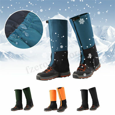 Waterproof Winter Warm Gaiters Walking Boot Gaters Camping Hiking Leggings Sport