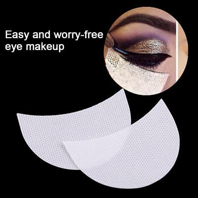 100x Eye Shadow Shield Patches Eyelash Pad Under Winged Eyeliner Stickers Makeup