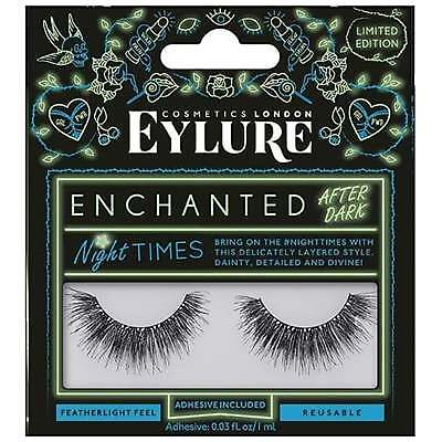 Eylure - Enchanted After Dark Eyelashes - Night Times (Adhesive Included)