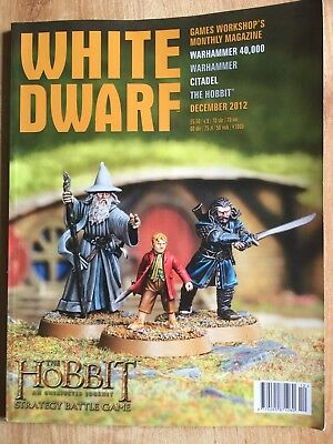 Games Workshop White Dwarf Magazine The Hobbit December 2012
