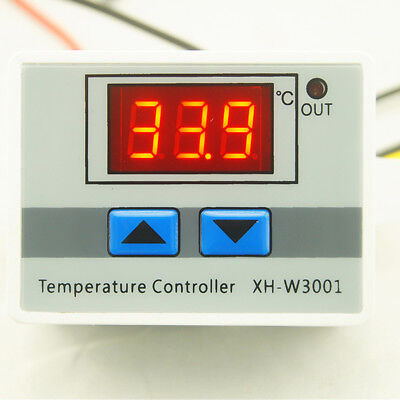XH-W3001 Digital Control Temperature Microcomputer Thermostat Switch UK
