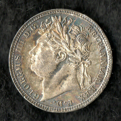 George IV Maundy Penny Silver 1822