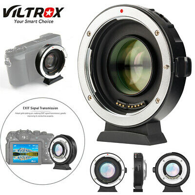 Viltrox EF-M2 Auto Focus Reducer Speed Booster Adapter for Canon EF Lens to M43
