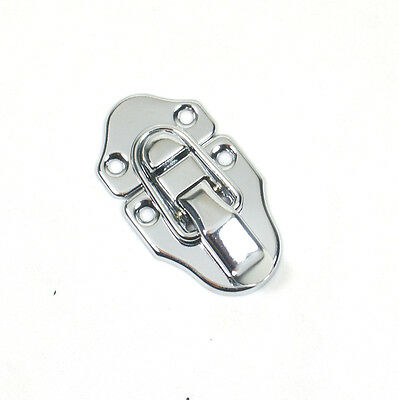 Small Drawbolt Closure Latch for Guitar Case //musical cases 45mm 6431 Chrome