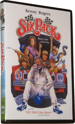 SIX PACK DVD (1982) - Region 1 USA Widescreen - Kenny Rogers - Diane Lane