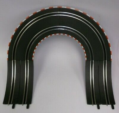 Greenhills Carrera Go!!! Track Banked Corner - 6 Pieces - NEW - MT320