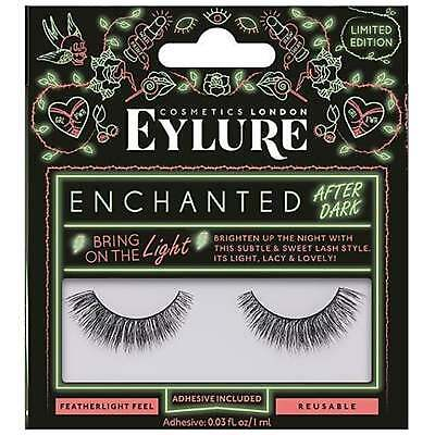 Enchanted After Dark Eyelashes - Bring On The Light (Adhesive Included)