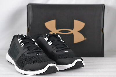 WOMEN'S UNDER ARMOUR Fuse FST Cross Country Running Shoes BlackWhite