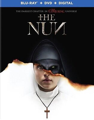 The Nun Blu-ray Dvd Digital 2018 Pre Order 12/4. New And Free Shipping.