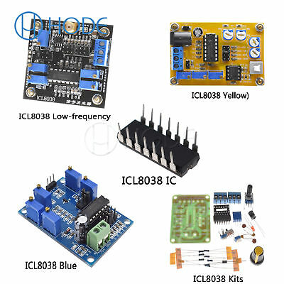 ICL8038 DC DDS Signal Generator Module/IC/DIY kit Sine Square Triangle UK