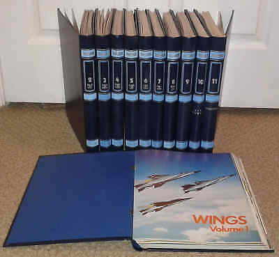 Wings - Aeroplane Partwork Magazines - Complete Pdf Set On Dvd