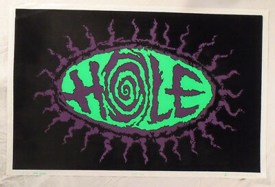 Hole Flocked Blacklight Poster 1995 Courtney Love