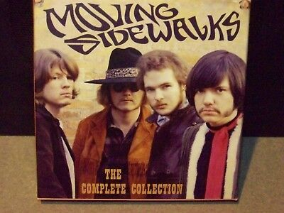 """Early Billy Gibbons  """"the Moving Sidewalks Complete Collection 2 Cd Set"""