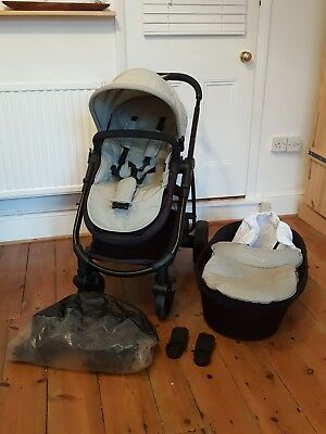 iCandy Strawberry 2 Pushchair, Carrrycot & Footmuff