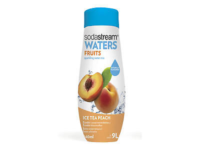 2 x SODASTREAM SIRUP ICE TEA PEACH 440 ml =880 ml / 1 Liter Grundpreis = 6,81 €