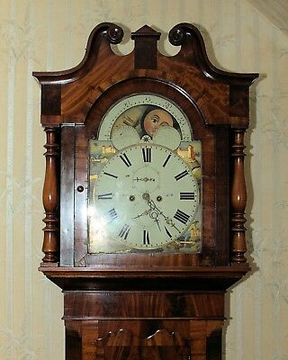 Moon phase lancashire ..Grandfather Clock 8 Day .