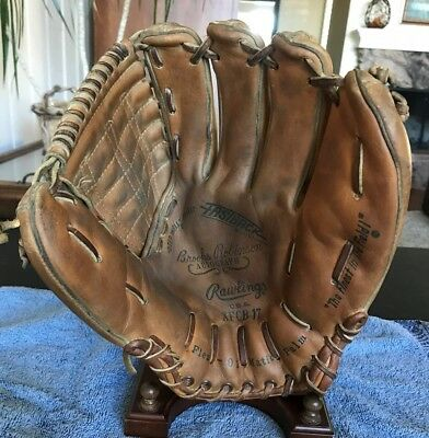 Brooks Robinson Usa Rawlings Xfcb 17 Vintage Baseball Glove